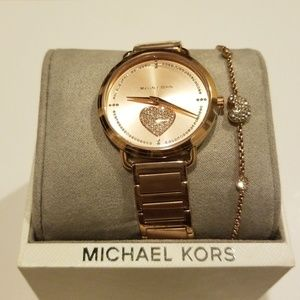 NWT Michael Kors Watch Set